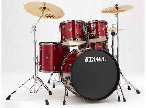 (TAMA IP52NCCPM Imperialstar 5pc Complete Drum Set Kit with 22