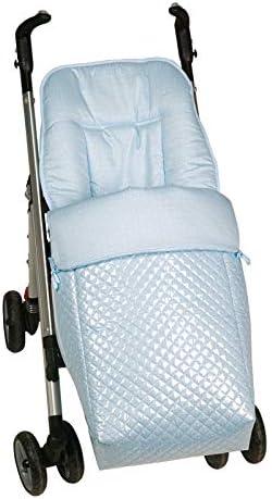 Saco silla paseo universal AZUL plastificado IMPERMEABLE para ...