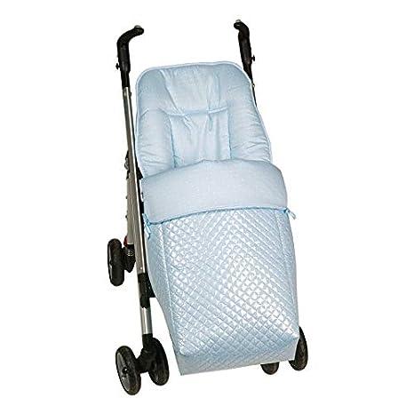 Saco silla paseo universal AZUL plastificado IMPERMEABLE