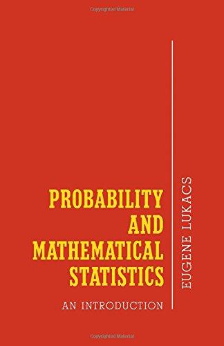 Probability and Mathematical Statistics