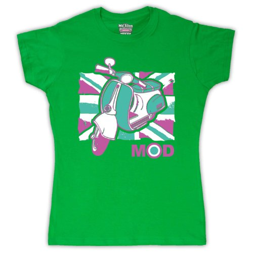 My Icon Art & Clothing -camiseta Mujer Verde