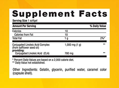 Country Life - CLA Tonalin, Supports Fat Loss - 90 Softgels by Country Life (Image #2)