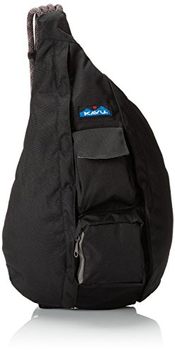 KAVU Rope Sling Backpack Black