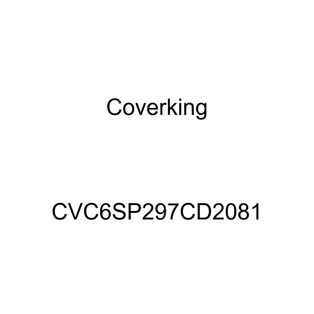 Coverking CVC6SP297CD2081 2-Tone Black-Blue Stormproof Custom Vehicle Cover