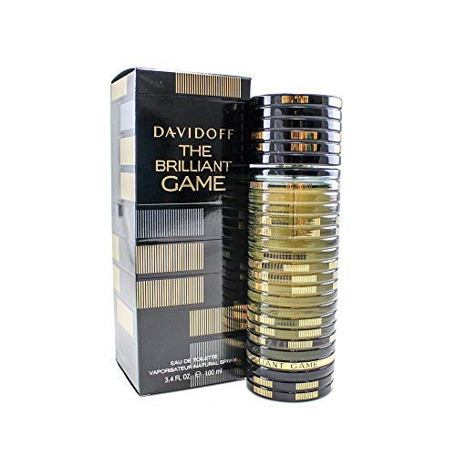 Davidoff The Brilliant Game Men s Eau de Toilette Spray, 3.4 Ounce