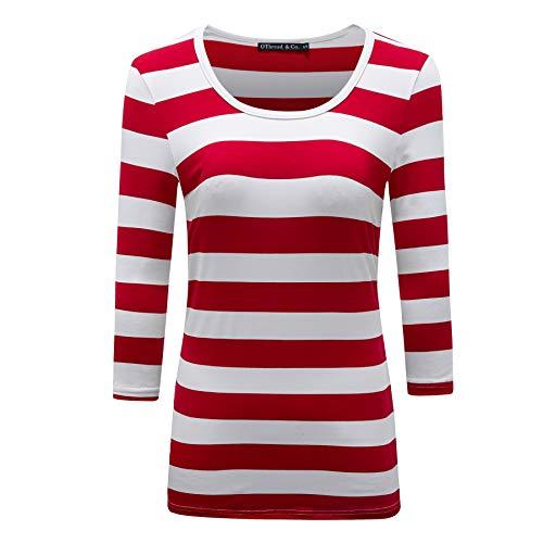 f084b3b8ccf Red white fashion co the best Amazon price in SaveMoney.es