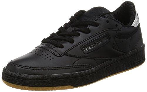 Reebok Club C 85 Diamond, Zapatillas Deportivas para Interior para Mujer negro