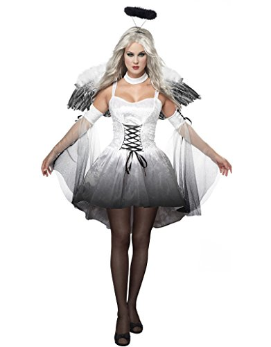 Adult Angel Costume, Halloween Outfit Women's Costumes Cosplay Uniform (Halloween Costumes Partycity)