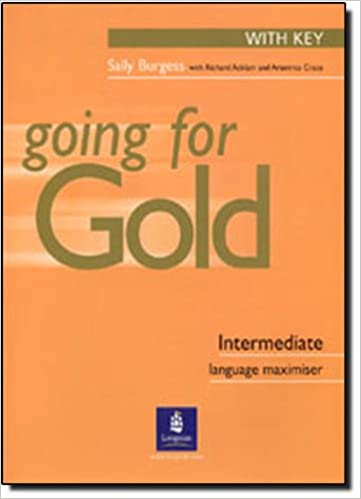 Book Going for Gold Intermediate Language Maximiser with Key