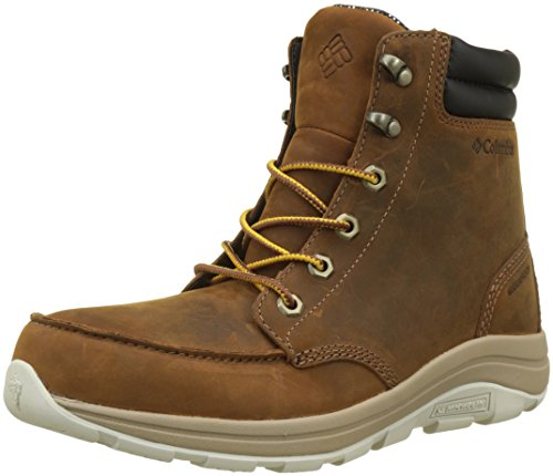 Columbia Bangor Boot Omni-Heat, Stivali da Neve Uomo Marrone (Tobacco, Bright Copper 256)