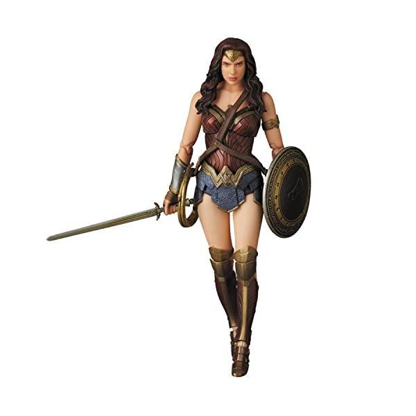 41bSnTipcDL Medicom Batman v Superman: Dawn of Justice: Wonder Woman MAF EX Action Figure