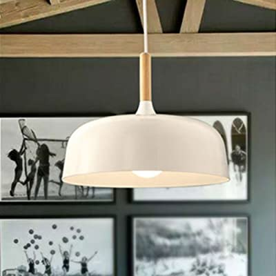 Wanunion Modern Wood&Metal Timber DIY Mushroom Pendant Ceiling Chandelier Lights Lighting Lamp