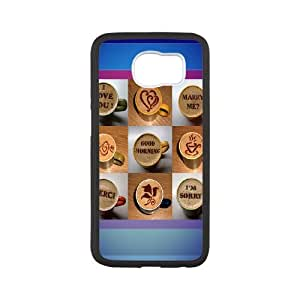 For Samsung Galaxy S6 - Designed With Latte