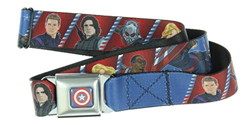 Captain America Civil War Seatbelt Belt (6 Superhero