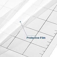 duhe189014 Adhesivo Transparente de Repuesto para tapete de Corte ...