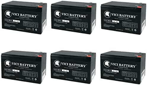 12V 12AH F2 Battery Pride Jazzy Power Chair Z-Chair 3 Pack Brand Product VICI Battery VB12-12