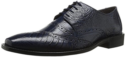 Stacy Adams Mens Garzon Oxford Blue