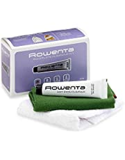 Rowenta ZD100D1 Non-Toxic Stainless Steel Soleplate Cleaner Kit for Steam Irons with Cleaning and Polishing Cloth