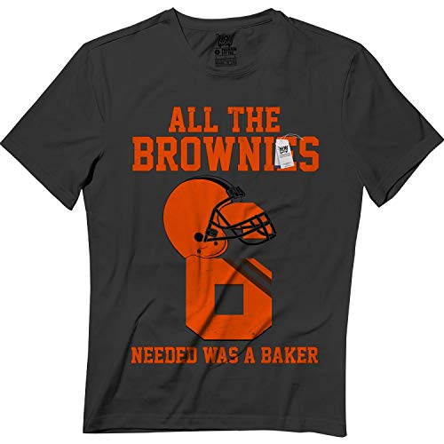 - All The Brownies Needed was A Baker Cleveland Jersey Tshirt Black