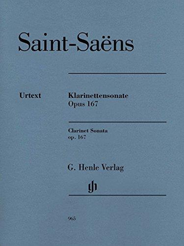 Saint-Saëns: Clarinet Sonata, Op. 167
