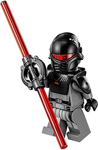 LEGO Star Wars Rebels Minifigure - The Inquisitor Galactic Empire Dark Sith (75082)]()