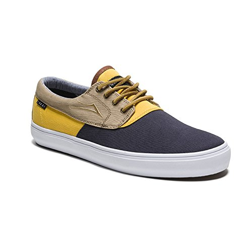 Lakai Mens Camby Natas Echelon Skate Shoes, Tri Tone Canvas - Mens Skate Foot Wear Tri tone canvas