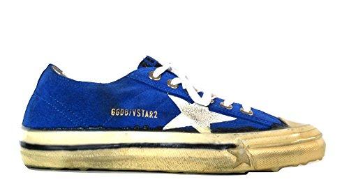 Golden Goose Herre Sneaker Blå Bluette + Bianco XSoETd