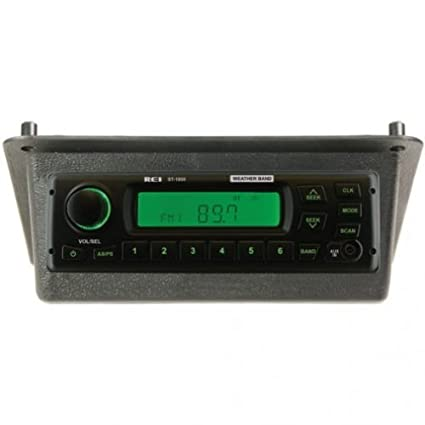 amazon com all states ag parts radio kit am fm wb aux stereo black rh amazon com