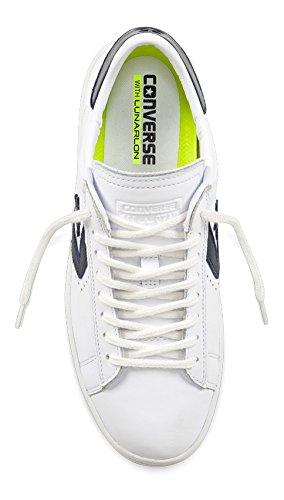 LP Converse Bianco Leather Leather Pro Pelle Bianco blu Sneakers Donna qSOSrwAt