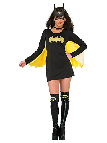 Rubie's DC Superheroes Batgirl Adult Long Sleeve Cape Dress]()