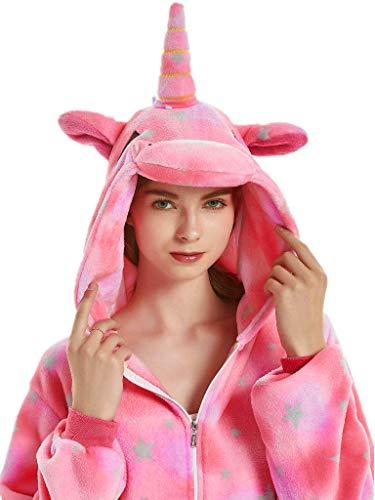 Adult Onesies for Women Unicorn Pajamas Men Teens