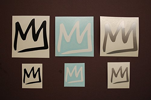 Mammoth Mountain Sticker Vinyl Decals Set OF 6 White, Black, Silver Stickers (three of 1