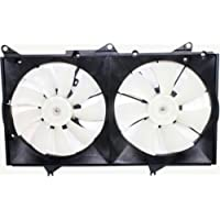 MAPM Premium CAMRY 02-06 RADIATOR FAN SHROUD ASSEMBLY, Dual Type, 6Cyl, USA Built, w/ Blades marked 342 and 343