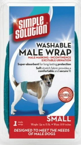 Simple Solution Washable Male Wrap Small (Training Solution Simple Diaper)