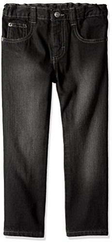 - Wrangler Authentics Boys' Slim Straight Jean, Black, 4T