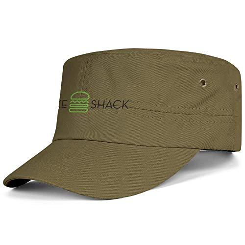 US-Army Shake-Shack-Logo-Transparent Trucker Cap Youth Cute Blitzing Santa Cap Men Women