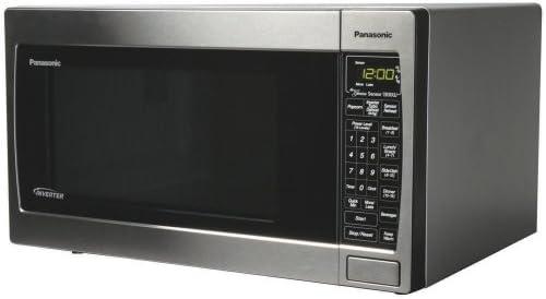 Amazon.com: Panasonic nn-sn657s 1,2 CUFT, 1300 W, Acero ...