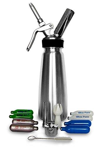Dolisia Stainless Steel Whipped Dispenser