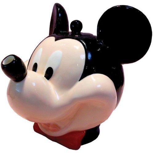 48 Oz Mickey Mouse con lazo rojo corbata y tetera de carita ...
