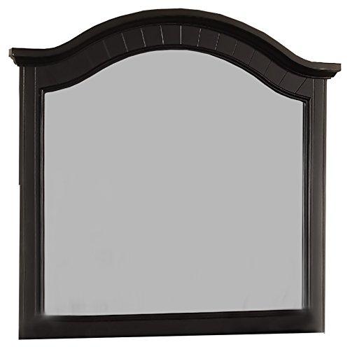 Cambridge 98101MI-BK Hyde Park Mirror Vanities, Black