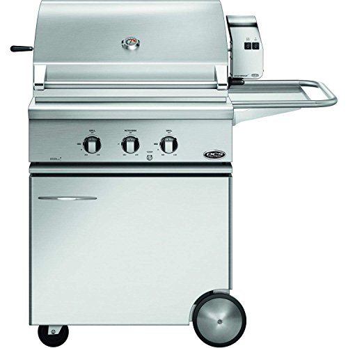 (DCS Traditional Gas Grill On CSS Cart with Rotisserie (71304) (BH1-30R-L-CSS-30), 30-Inch, Propane)
