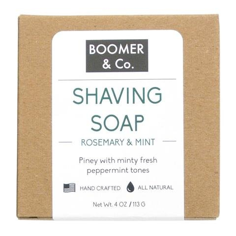 Case Pack of 8 - Rosemary & Mint Shaving Soap Bar by USA