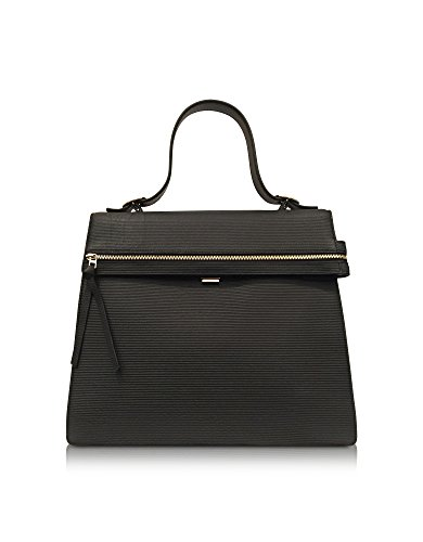 VICTORIA BECKHAM WOMEN'S VBA109 BLACK LEATHER HANDBAG