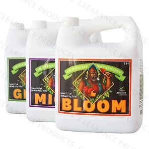 Advanced Nutrients pH Perfect Grow, Bloom, Micro, Sensi Cal Mag Xtra 500ml with City Garden Conversion Chart, Pipette