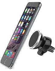 حامل هاتف للسيارة مع قاعدة مغناطيسية بخاصية دوران 360 درجة للهواتف الذكية