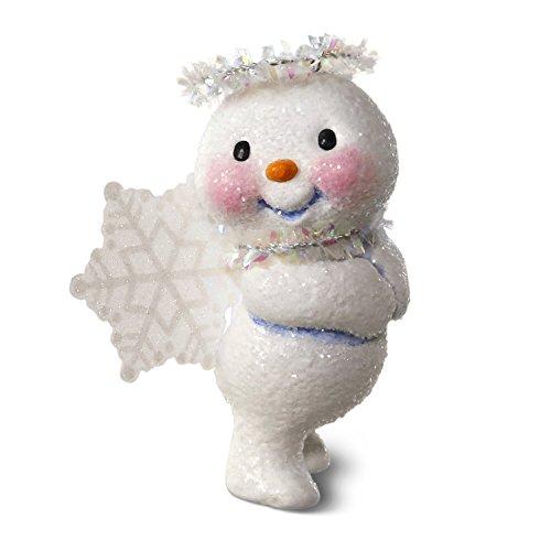 Ornament Angel Snowman (Hallmark Keepsake 2017 Snow Angel Christmas Ornament)