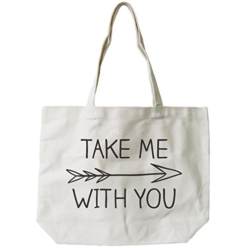 365-printing-womens-take-me-with-you-arrow-sign-canvas-tote-bag-natural