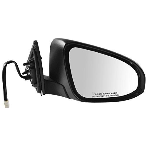 Mirror Power Passenger Side Right RH RF for Toyota Camry Hybrid SE - Toyota Right Mirror Camry