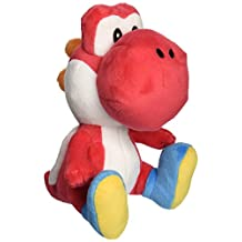 Little Buddy Super Mario Bros. 6-Inch Red Yoshi Stuffed Plush