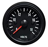 Volt Gauge- Waterproof Electrical White LED